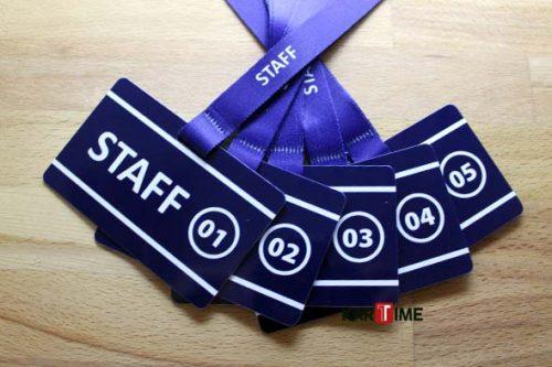 Boyun Askılı Staff Kartı