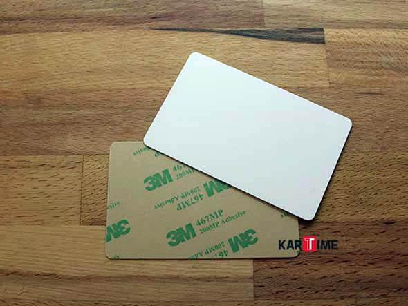 Baskısız Plastik Kartlar