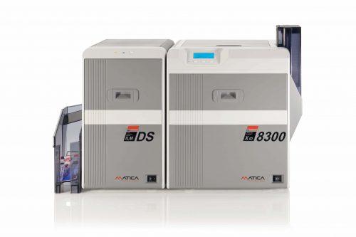 Matica XID8300 Çift Taraflı Laminasyon Modüllü Plastik Kart Yazıcı