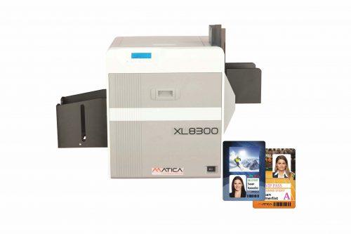 Matica XL8300 Özel Ebat Plastik Kart Yazıcı