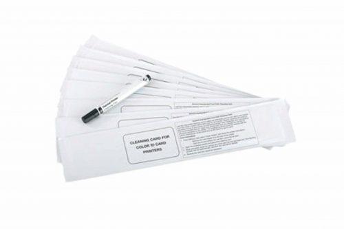 Uzun Temizleme Kartı Plastik Kart Yazıcı